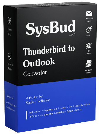SysBud Thunderbird to Outlook Converter - NearFile.Com