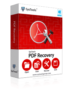 SysTools PDF Recovery Software