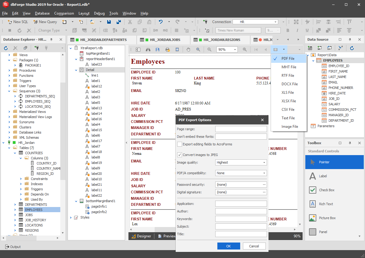 Download dbForge Studio for Oracle 4.1 For Windows PC ...