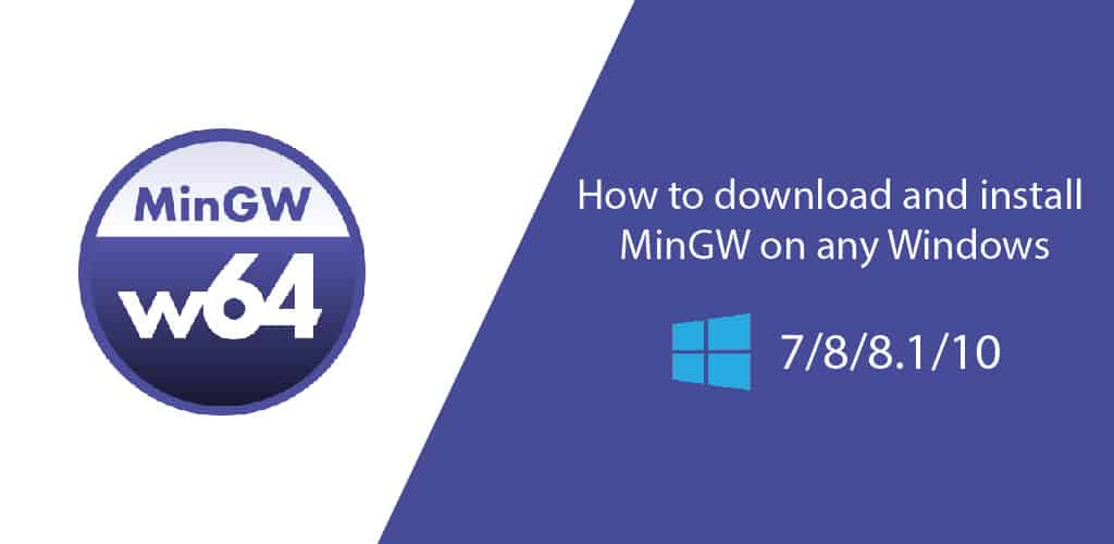 How to download and install MinGW on any Windows - NearFile.Com