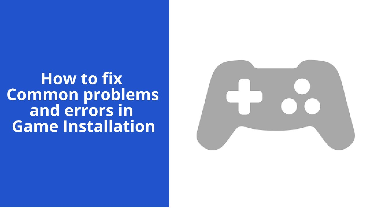 How to fix common problems and errors in Game Installation - NearFile.Com