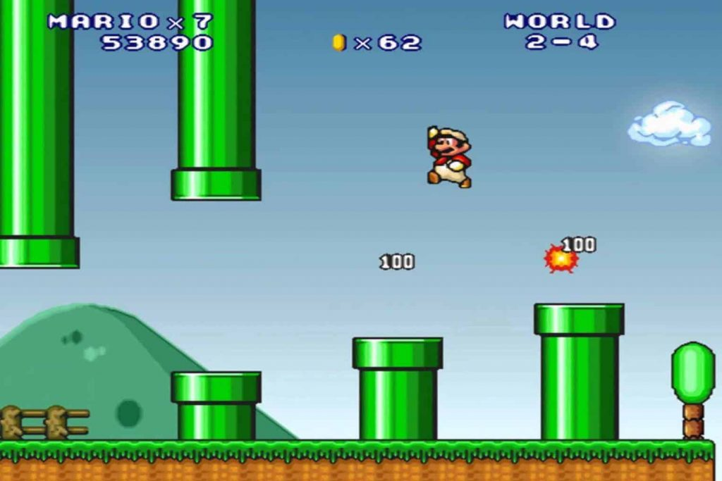 Super Mario 3 Mario Forever Screenshot
