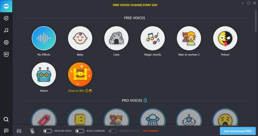 Voicemod Screenshot