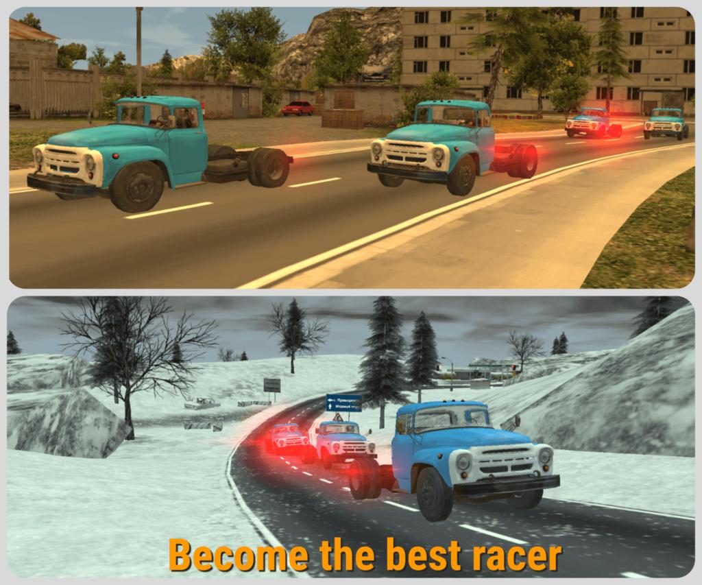 Russian Car Driver ZIL 130 Screenshot