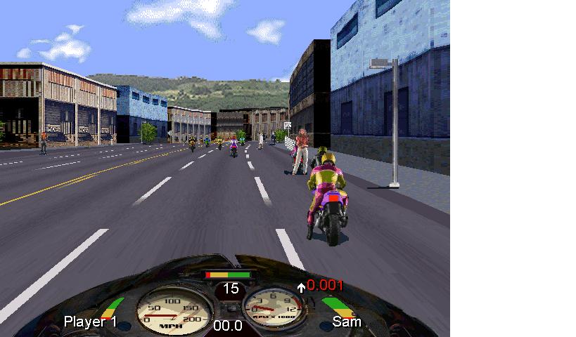 Road Rash Screenshot