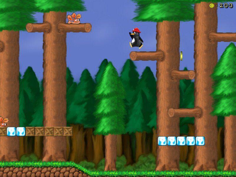 SuperTux Screenshot