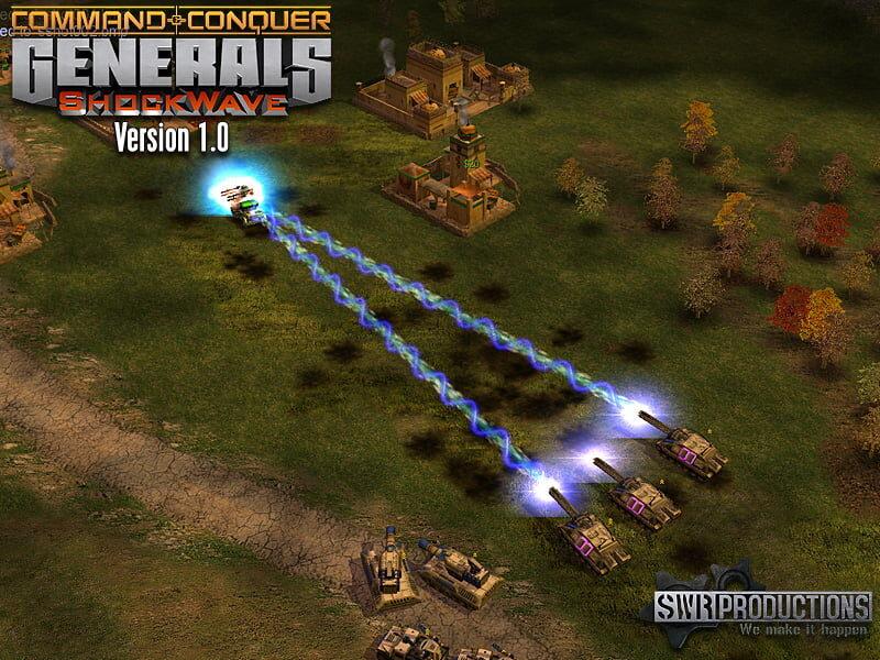 Command & Conquer: ShockWave Screenshot