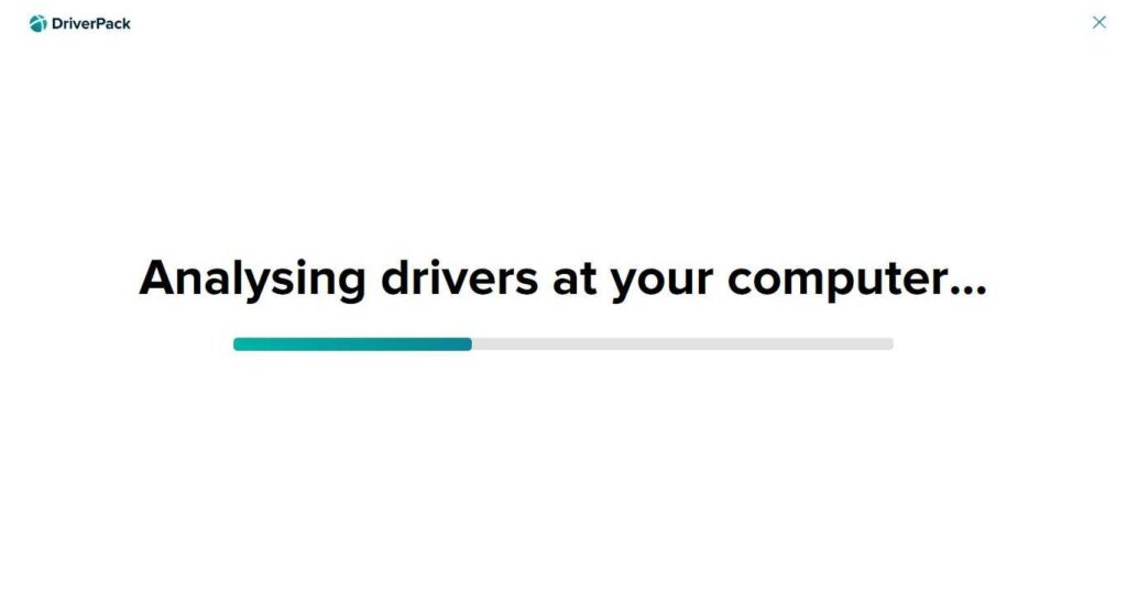 DriverPack Offline Network Screenshot