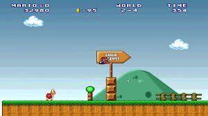Super Mario 3 Mario Forever Screenshot