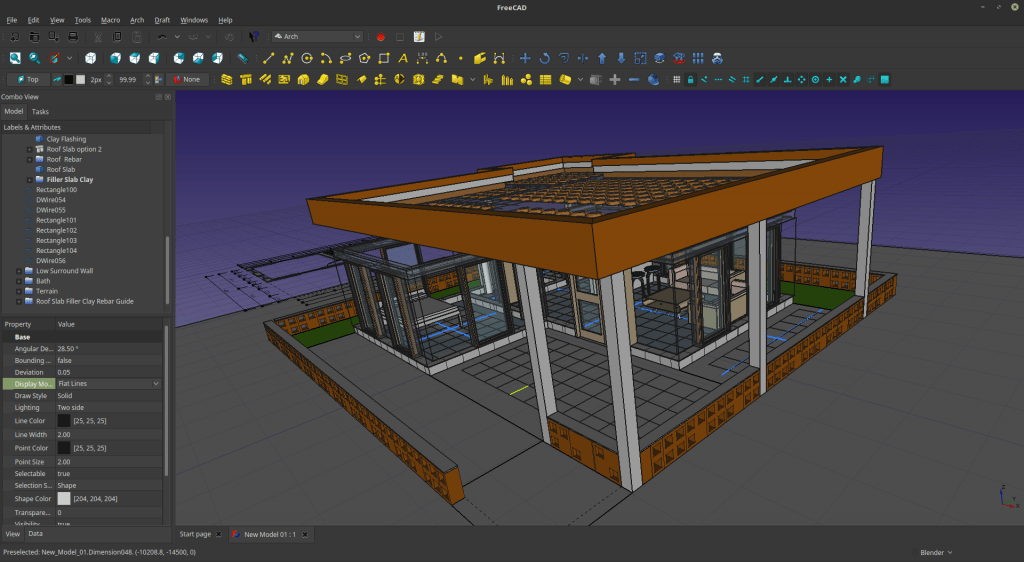 FreeCAD Screenshot